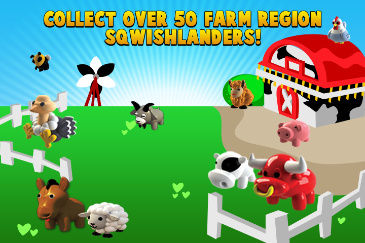 Sqwishlanders : Collector Series-Farm ? SqwishLand ? Safe Virtual Worlds For Kids