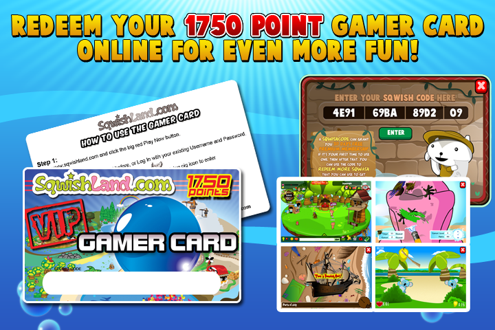 Free Gamer Card with each!